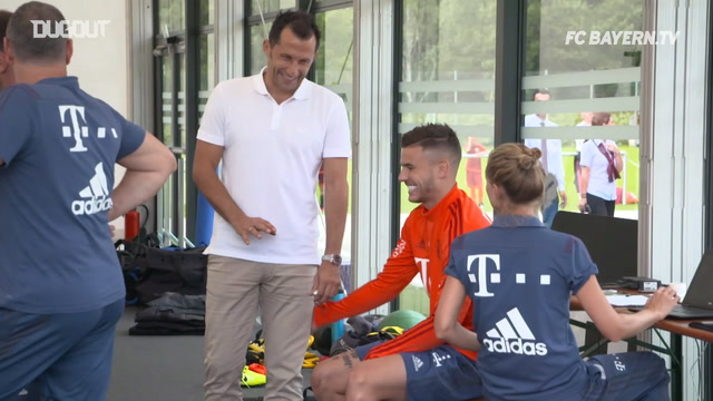 Lucas Hernández Completes First Squad Session