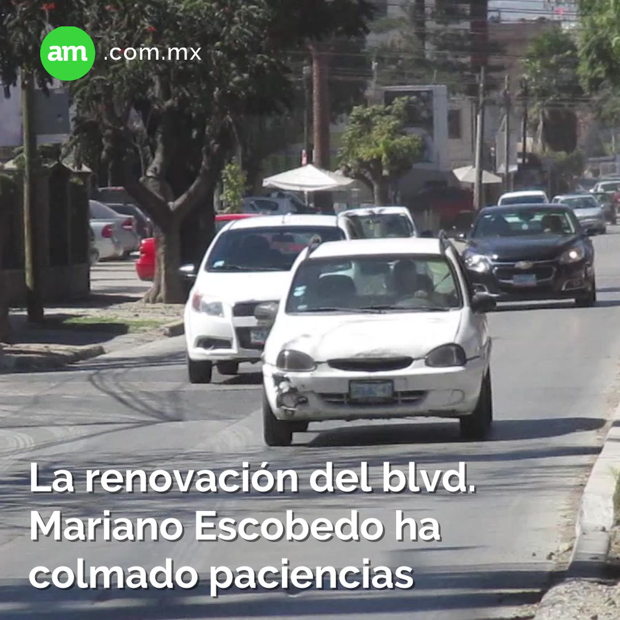 La renovación del blvd Mariano Escobedo ha colmado paciencias