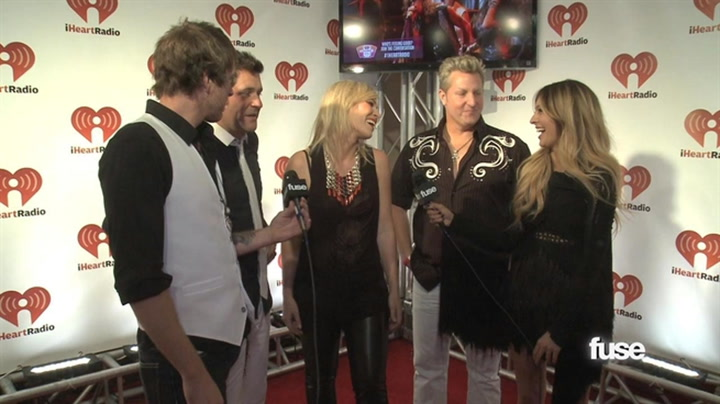 Interviews: How Rascal Flatts Ended Up Collaborating with Natasha Bedingfield? - iHeartRadio Music Festival