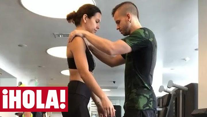 El entrenamiento en pareja de Cristina Pedroche y David Muñoz que causa furor en las redes