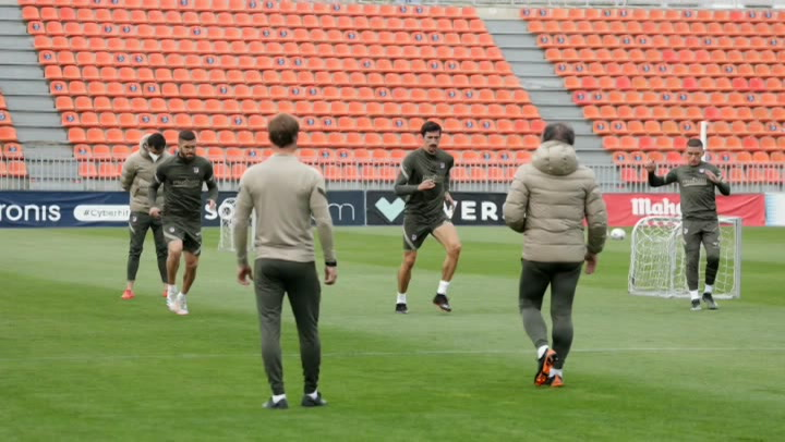 El Atlético de Madrid continúa preparando el partido ante el Betis