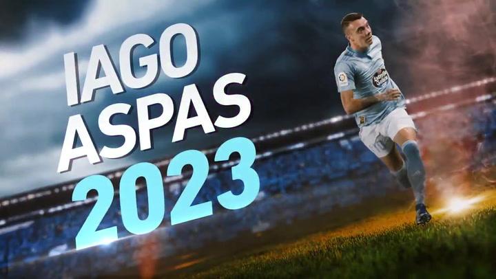 Iago Aspas renueva hasta 2023