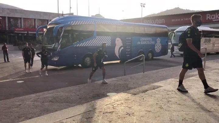 El Espanyol, con un 'once' muy defensivo ante el Barça