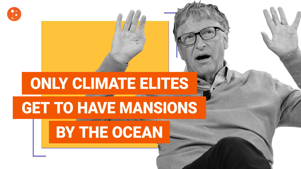 Only Climate Elites Get to Have Mansions by the Ocean