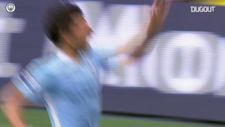 Sergio Agüero's first Premier League hat-trick vs Wigan