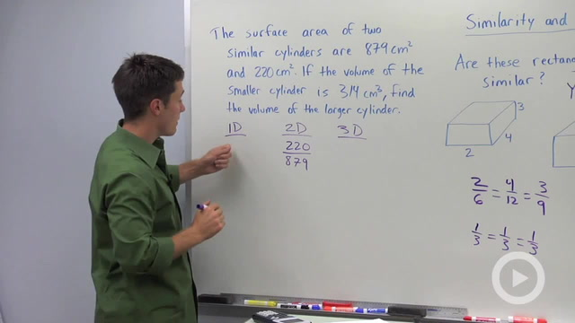 Similarity and Volume Ratios - Problem 3