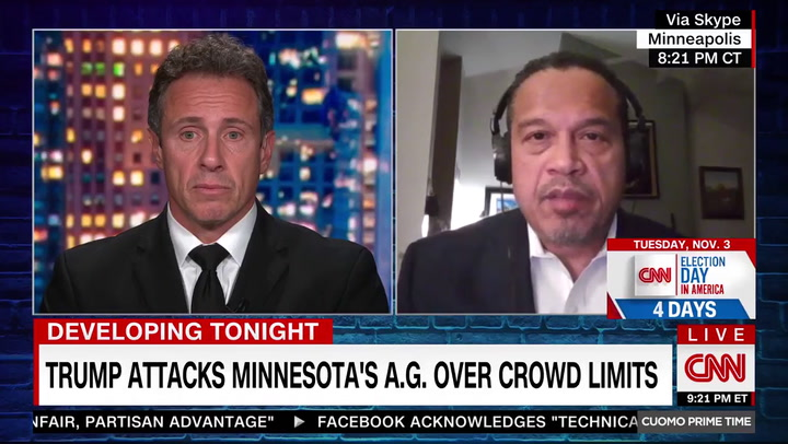 MN AG Ellison: Trump Has a Real Shot at Winning Minnesota