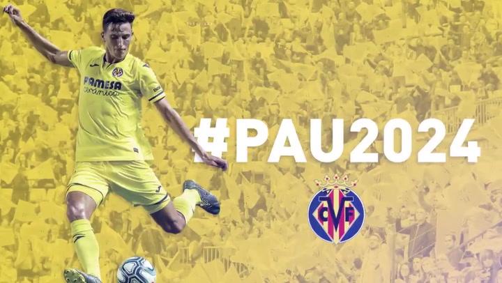 El Villarreal amplía el contrato de Pau Torres hasta 2024, con 50 millones de cláusula