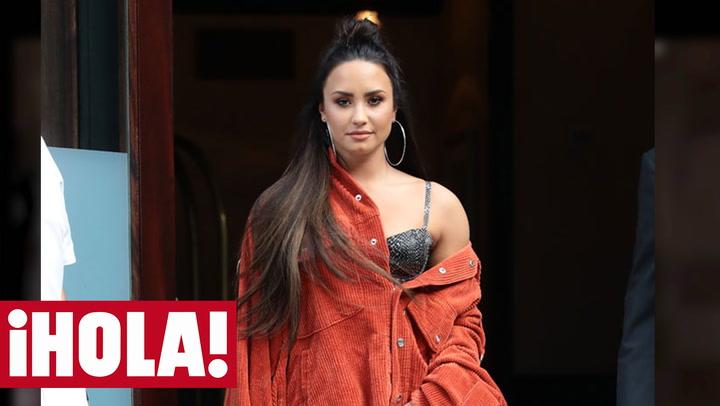 Demi Lovato reaparece en las redes con un significativo mensaje