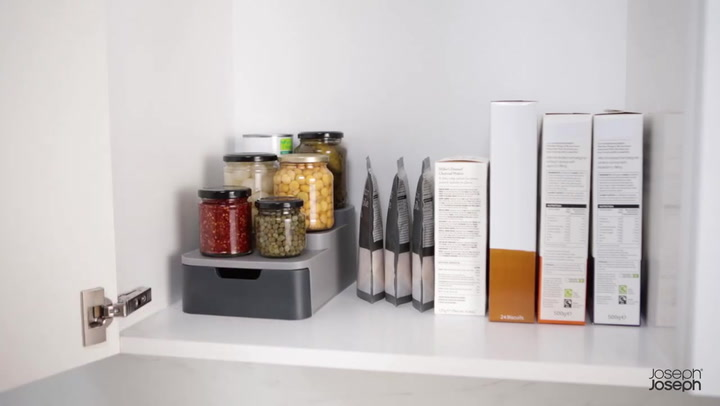 Preview image of Joseph Joseph CupboardStore Compact Tiered Organis video