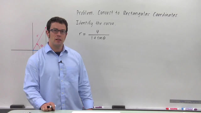 Converting from Polar Coordinates to Rectangular - Problem 2