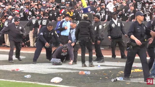 Chaos erupts as Raiders exit Oakland with loss – VIDEO