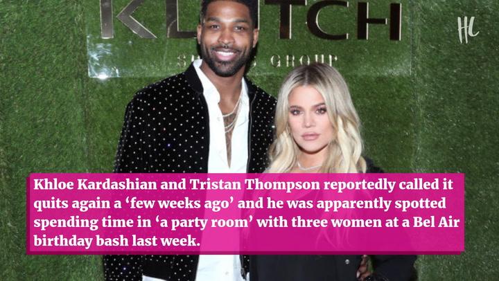 Khloe Kardashian & Tristan Thompson Reportedly Split