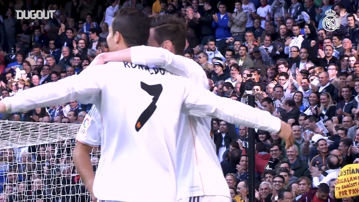 Five Goals by Cristiano Ronaldo Against Real Sociedad