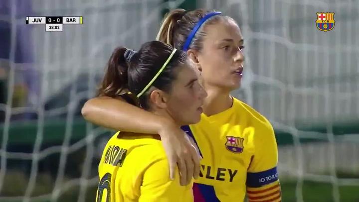 Alexia y Marta Torrejón dan la victoria al Barça femenino ante la Juventus