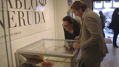 Galería española subastará amplio archivo sobre Pablo Neruda