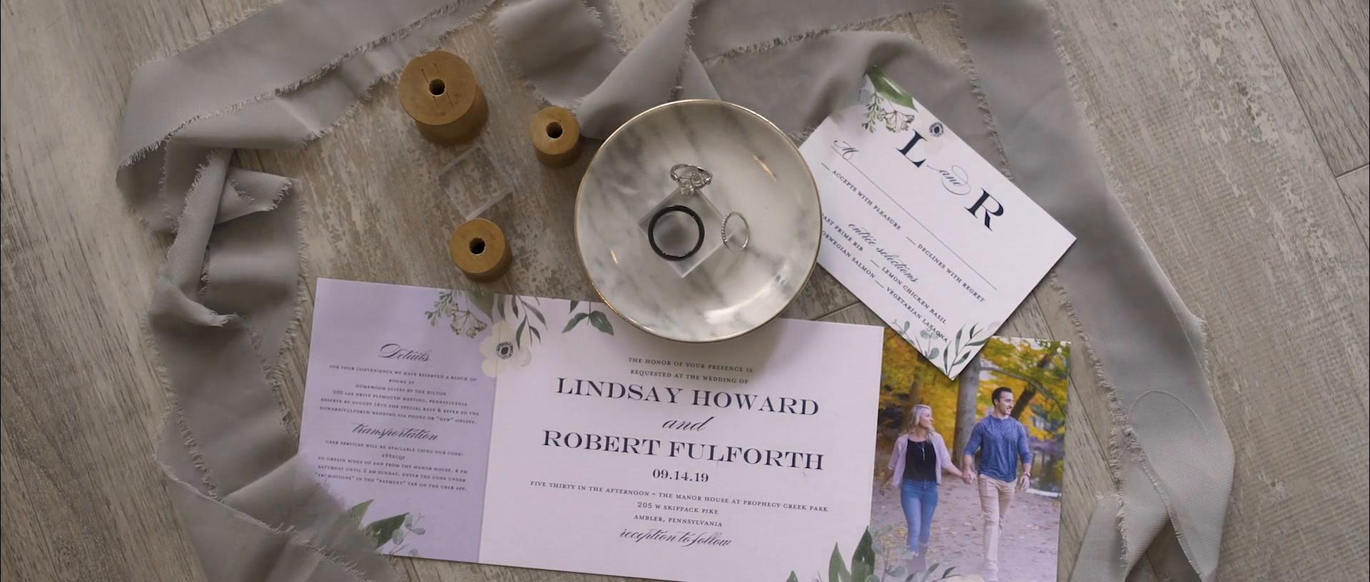 Lindsay + Robert | Ambler, Pennsylvania | The Manor House at Prophecy Creek