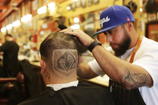 Hair, tattoo and nail salons get into the Vegas Golden Knights spirit