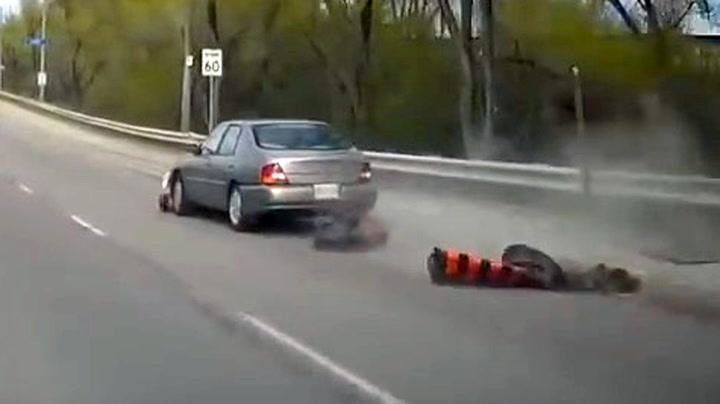Bilist filmet fyllekjørerens livsfarlig tur i trafikken