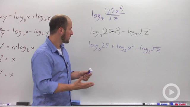 Expanding Logarithms - Problem 1