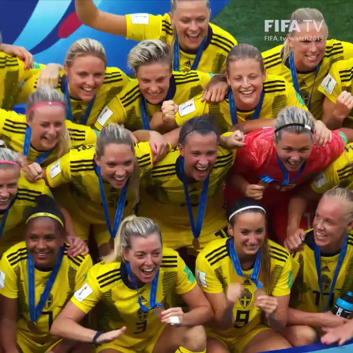 Suecia consigue el bronce ante Inglaterra