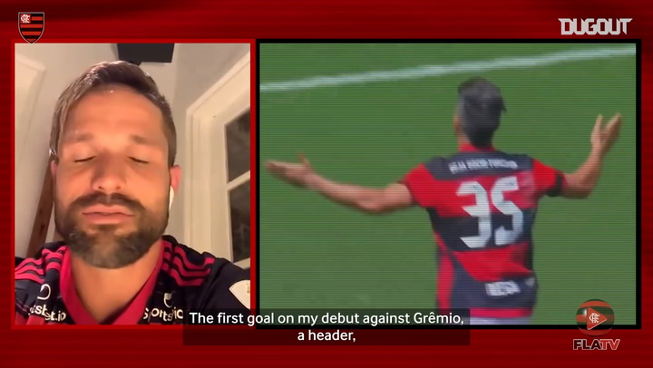 Diego Ribas relives his two most exciting goals for Flamengo