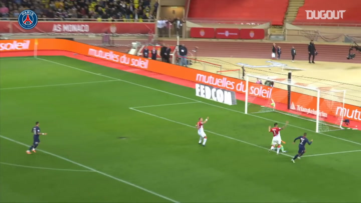Kylian Mbappé's stunning brace vs ex-club Monaco