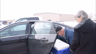 Meals on Wheels delivers hot meals on cold days
