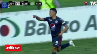 ¡Tiki Taka y golazo! Kevin López marca el segundo de Motagua ante Marathón en el Nacional
