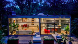 See Yourself in This Glass 'Bauhaus Oasis' in Washington, DC