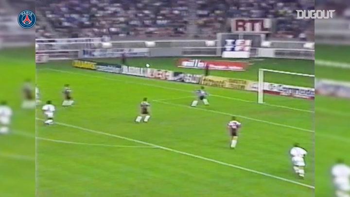 Paris Saint-Germain's best goals scored vs Metz in le Parc des Princes
