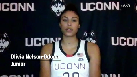 Huskies junior Olivia Nelson-Ododa on why playing at UConn is 'an honor'