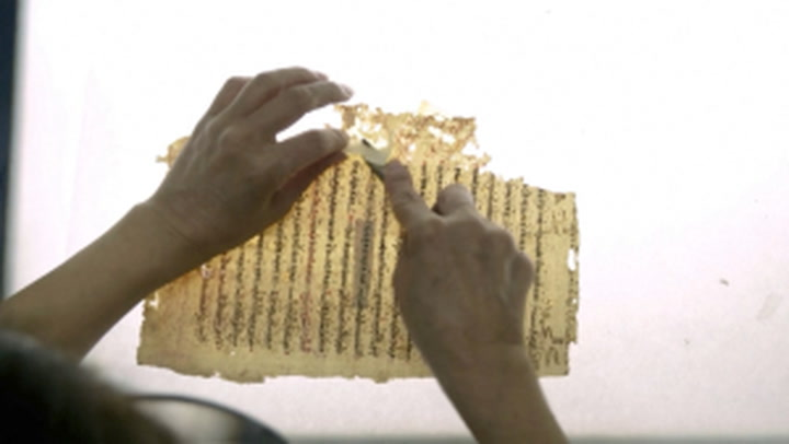 Syrian chemist painstakingly restores ancient Greek texts piece by piece