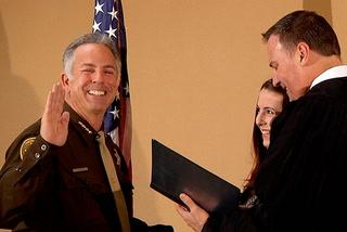Lombardo sworn in as sheriff