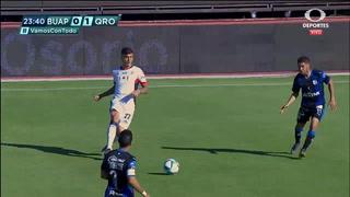 Michaell Chirinos pone el empate 1-1 a Lobos BUAP ante Querétaro