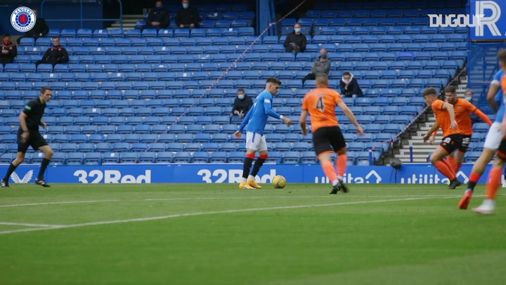 Pitchside View: Rangers thrash Dundee United 4-0
