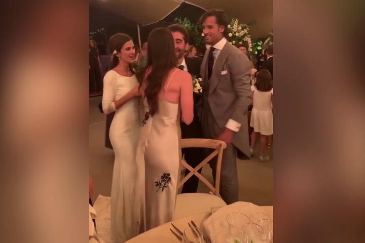 Video de la boda de Feliciano López y Sandra Gago