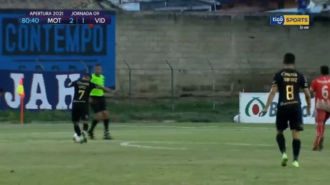 Motagua gana 2-1 al Vida y es líder del torneo Apertura