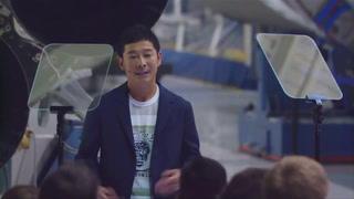 Millonario japonés será el primer turista lunar de SpaceX