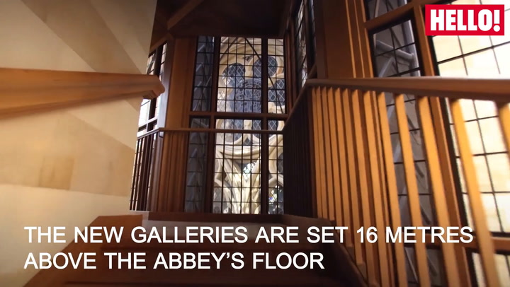 Westminster Abbey unveils the Queen's Diamond Jubilee Galleries