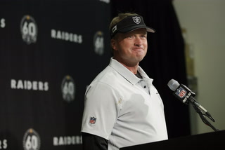 Gruden Discusses Raider Injury Report – VIDEO