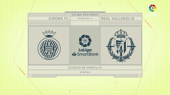 LaLiga SmartBank (J6): Resumen y gol del Girona 1-0 Valladolid