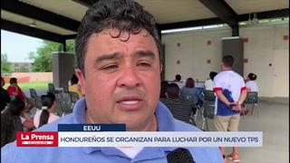 Hondureños en Estados Unidos se organizan para luchar por un nuevo TPS