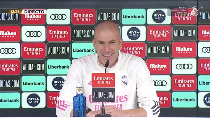 """Zidane: """"¿La selección francesa? De momento estoy aquí, en el futuro ya se verá"""""""