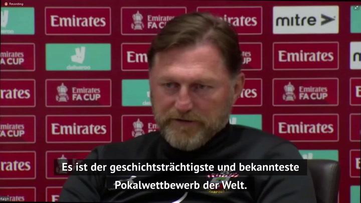 """Hasenhüttl: FA Cup """"immer etwas ganz Besonderes"""""""