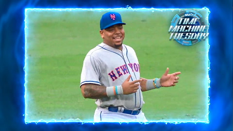 Dom Smith makes his Mets debut in 2017