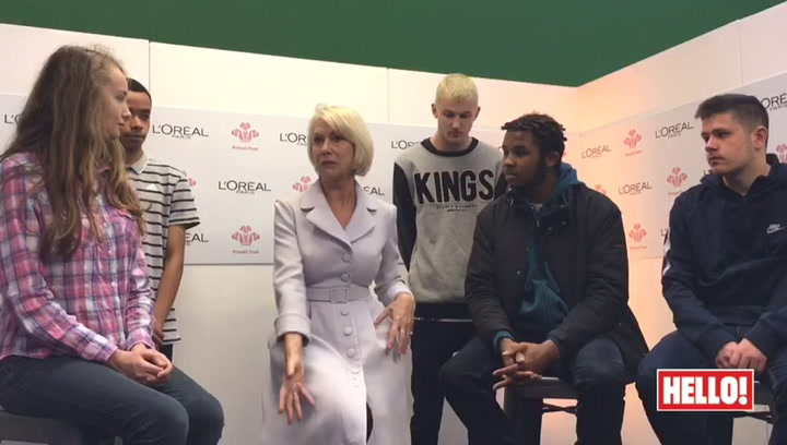 Dame Helen Mirren talks body language