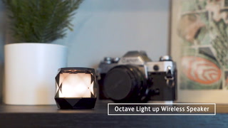 Octave Light Up Wireless Speaker