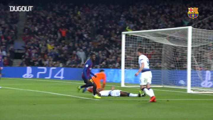 Los mejor de Ousmane Dembélé en el Barcelona