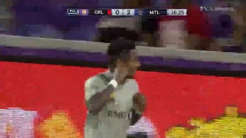 Romell Quioto marca gol en tirunfo del CF Montreal ante Orlando City
